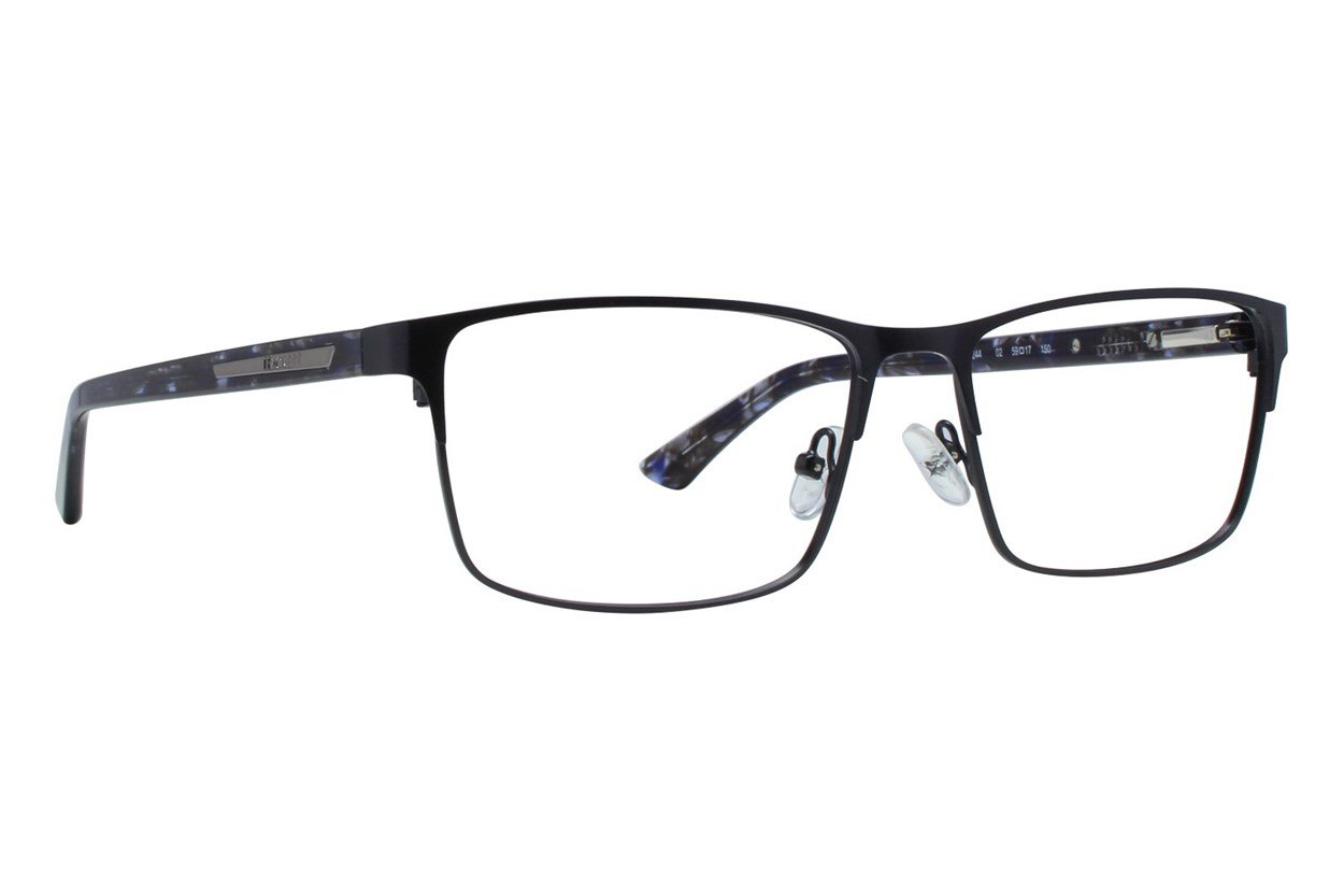 Hackett London Large Fit HEK1244 Black Glasses