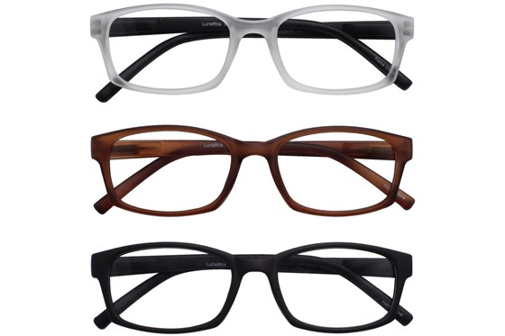 Lunettos Breslin Reading Glasses 3-Pack ReadingGlasses