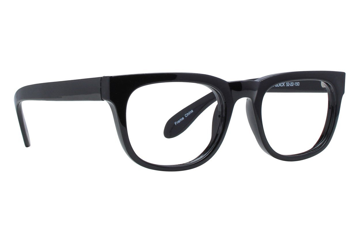 Affordable Designs Folsom Black Glasses