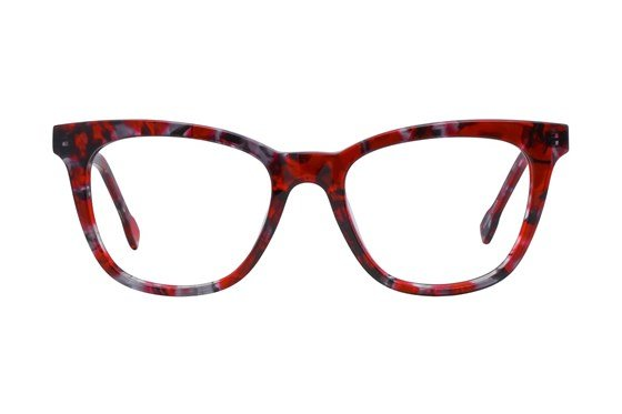 Serafina Laverne Red Glasses