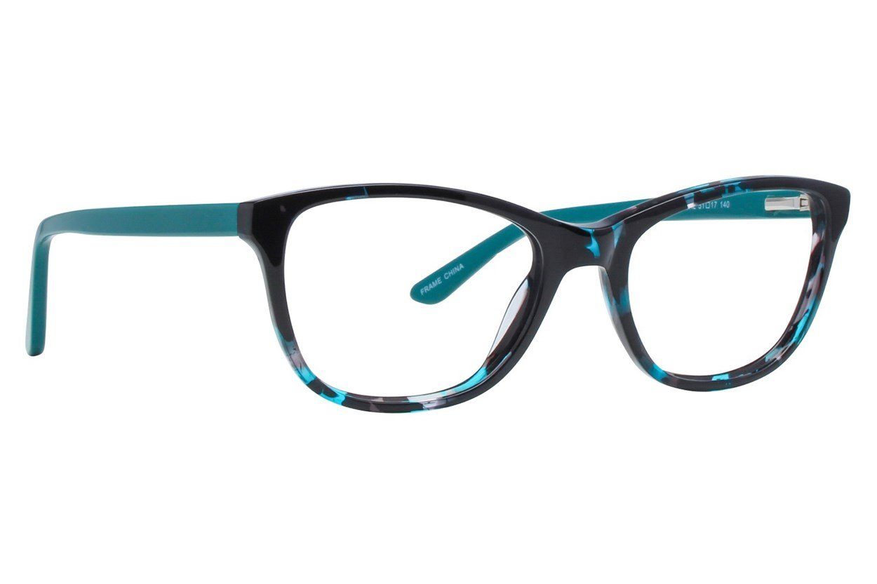 Serafina Penelope Turquoise Glasses