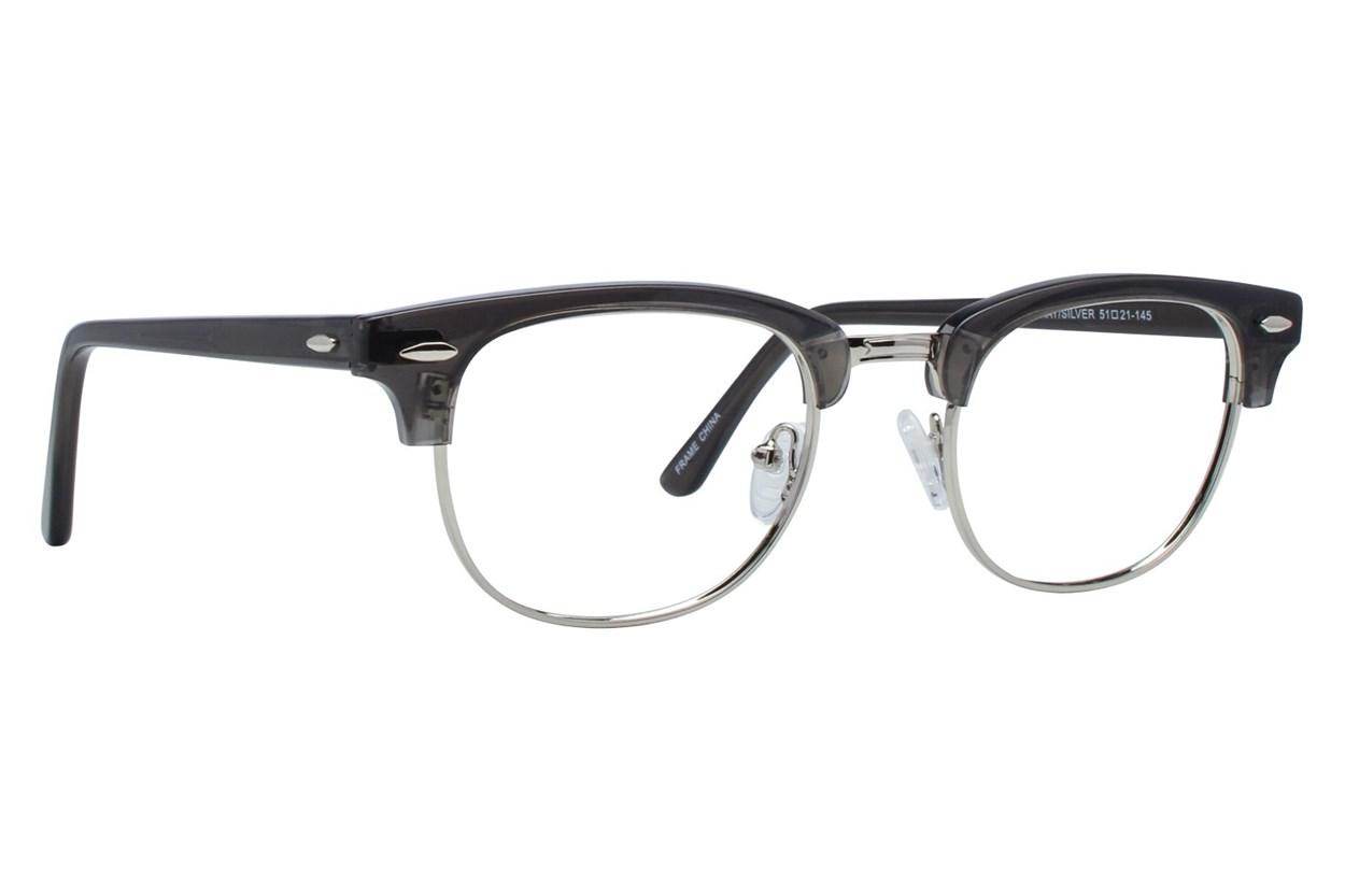 Brooklyn Heights Clubster II Gray Glasses