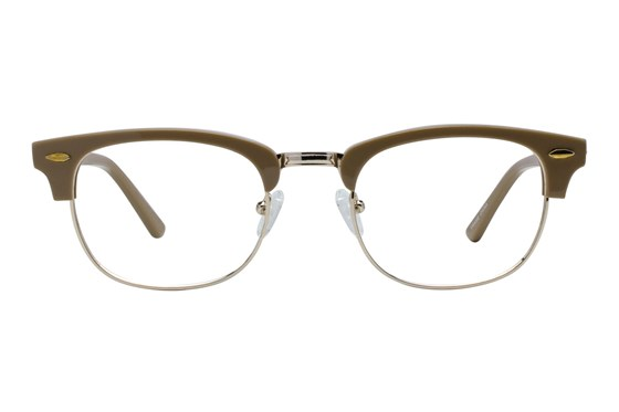 Brooklyn Heights Clubster II Tan Glasses