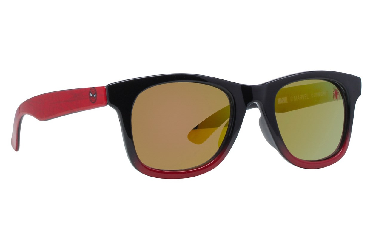 Spider-Man Spiderman CPSMM204 Black Sunglasses