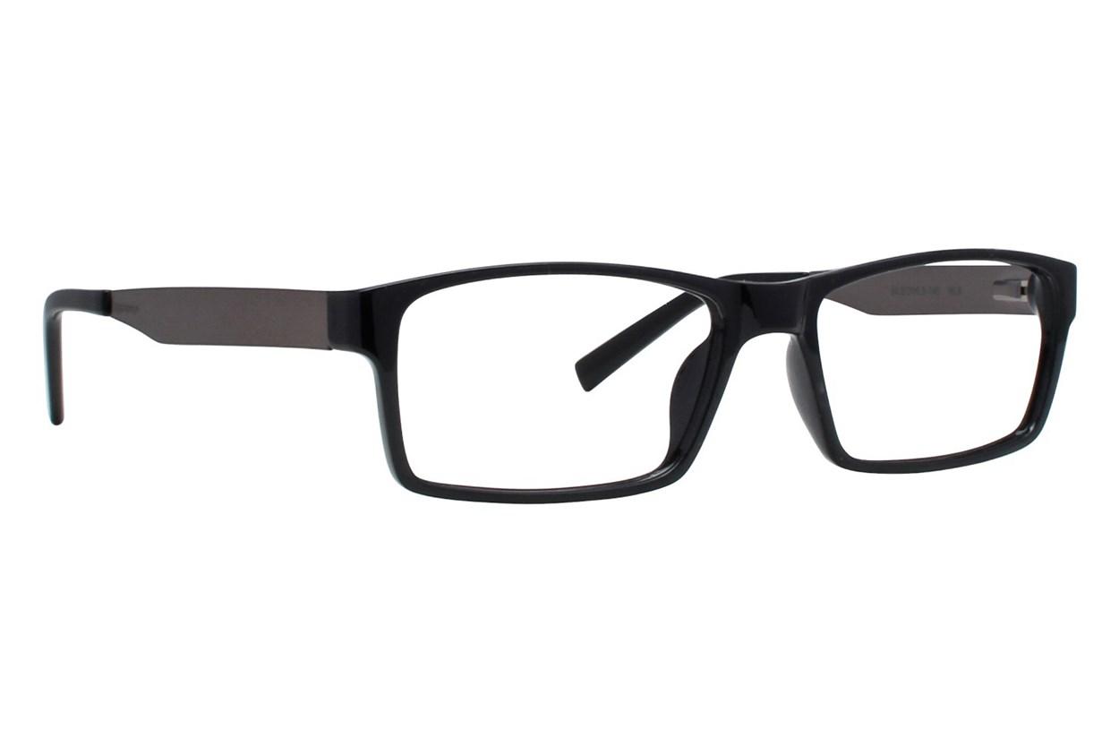 Colour Block VCMC10 Black Glasses