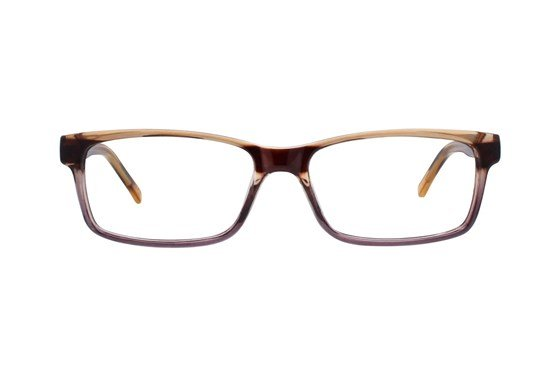 Colour Block VCMC2 Brown Glasses