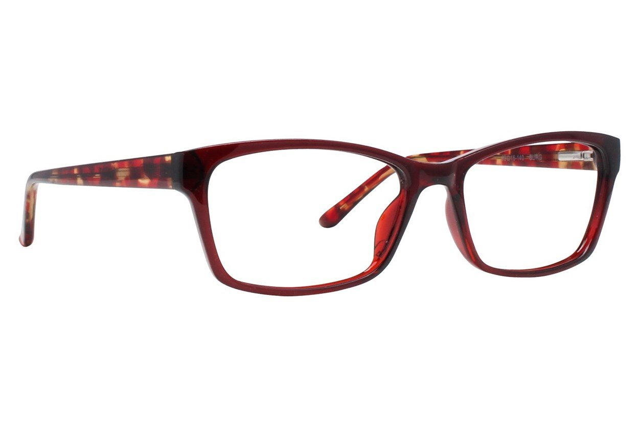 Colour Block VCWC10 Red Glasses