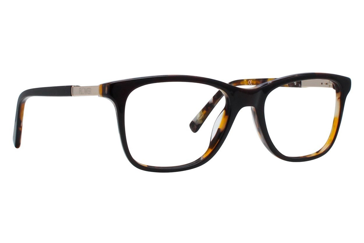 Flower Eyewear FLR6015 - Skylar Brown Glasses