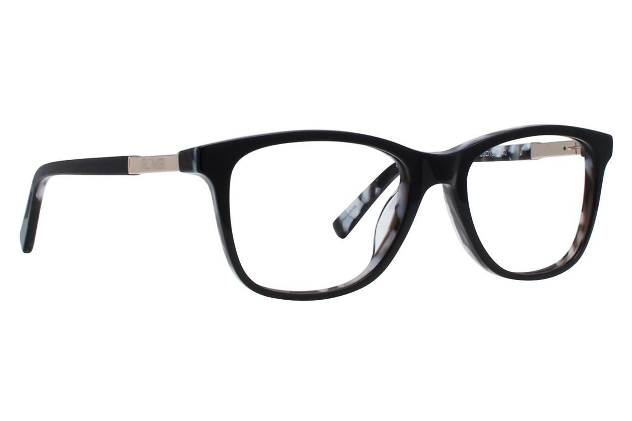 Flower Eyewear FLR6015 - Skylar Black Glasses