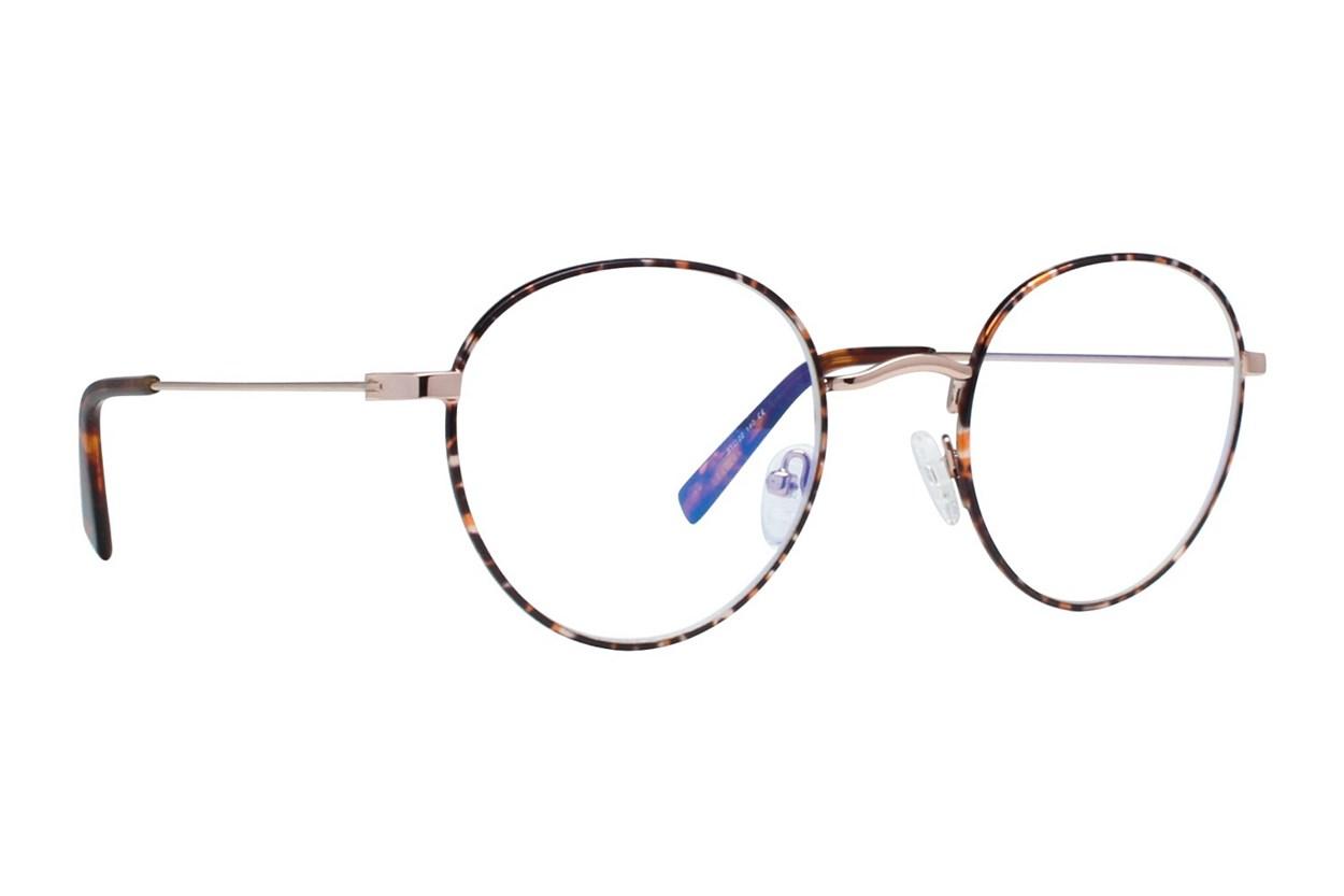 Flower Eyewear FLRBR103-Marigold Gold ComputerVisionAides