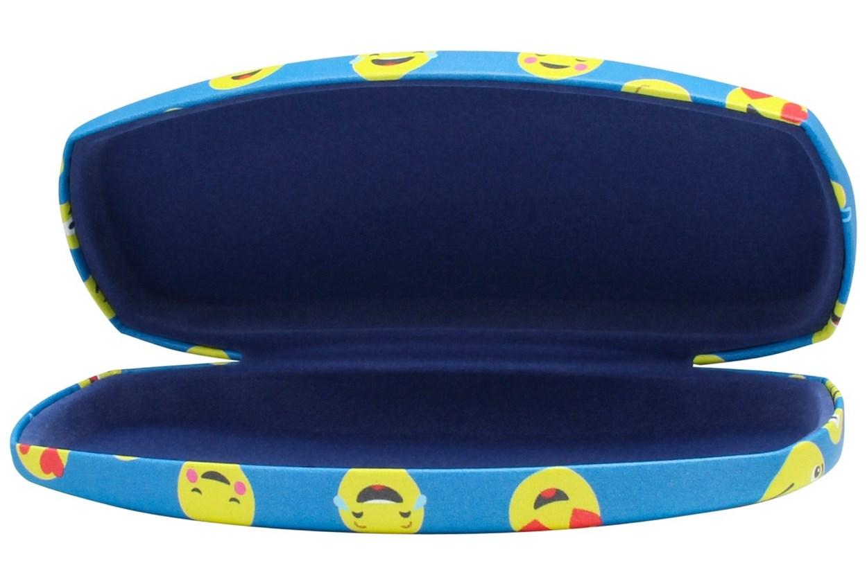 CalOptix Smiley Eyeglass Case Blue GlassesCases