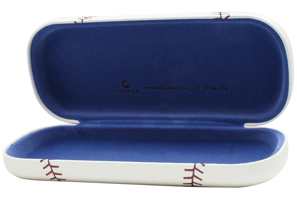 CalOptix Baseball Eyeglass Case White GlassesCases