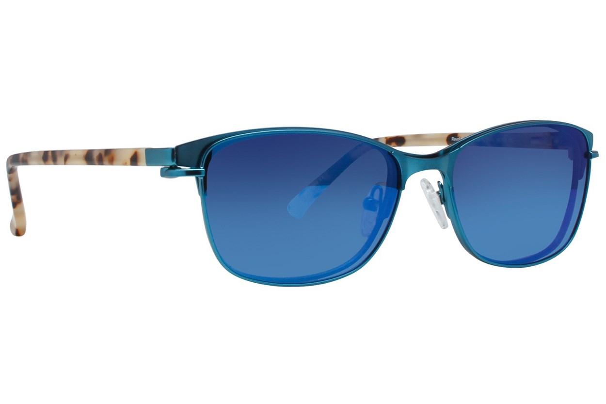 Alternate Image 1 - Revolution Edison Turquoise Glasses