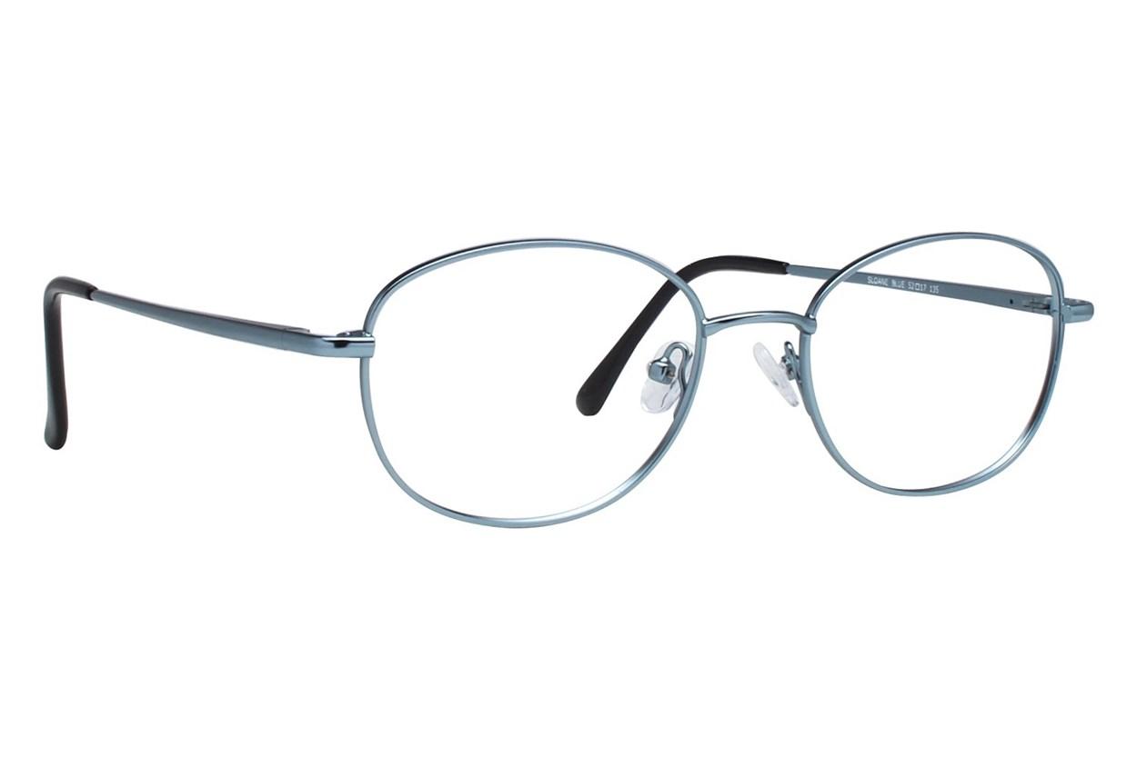 Eight To Eighty Eyewear Sloane Blue Glasses