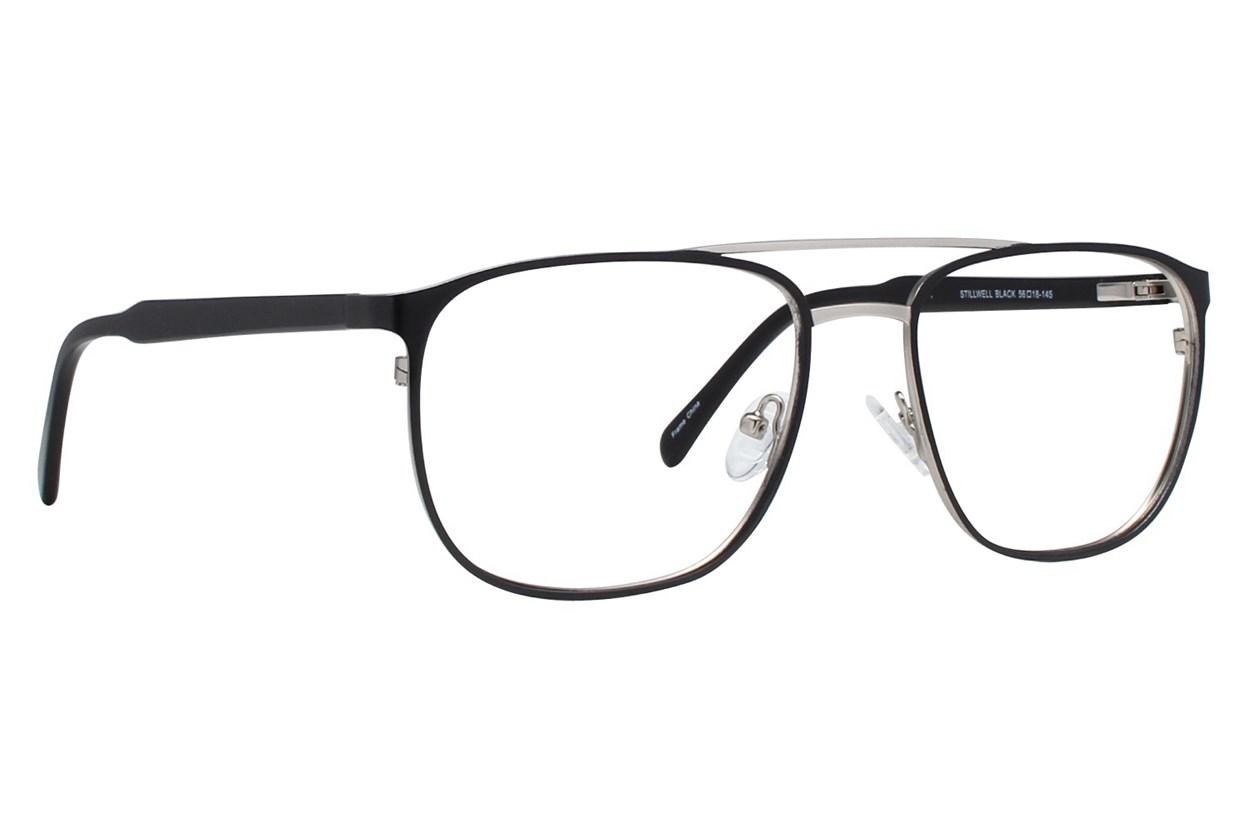 Brooklyn Heights Stillwell Black Glasses