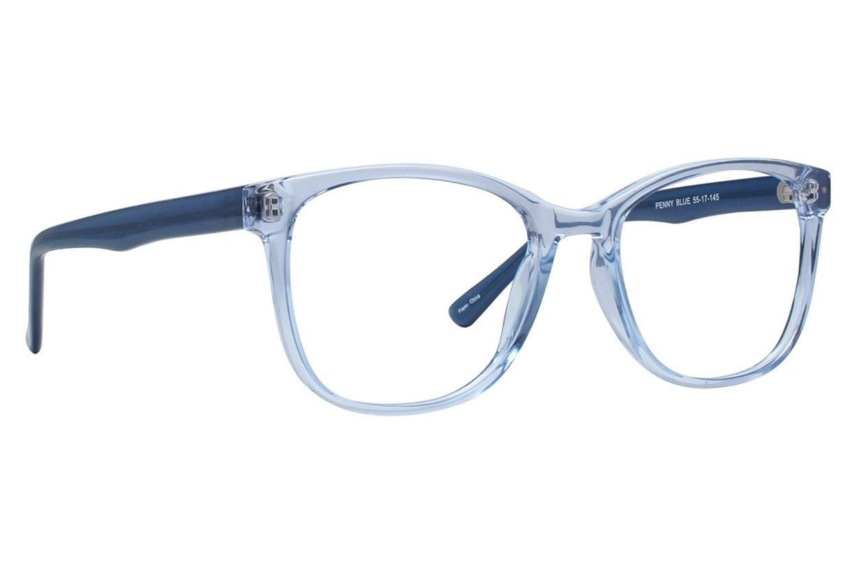 Affordable Designs Penny Blue Glasses