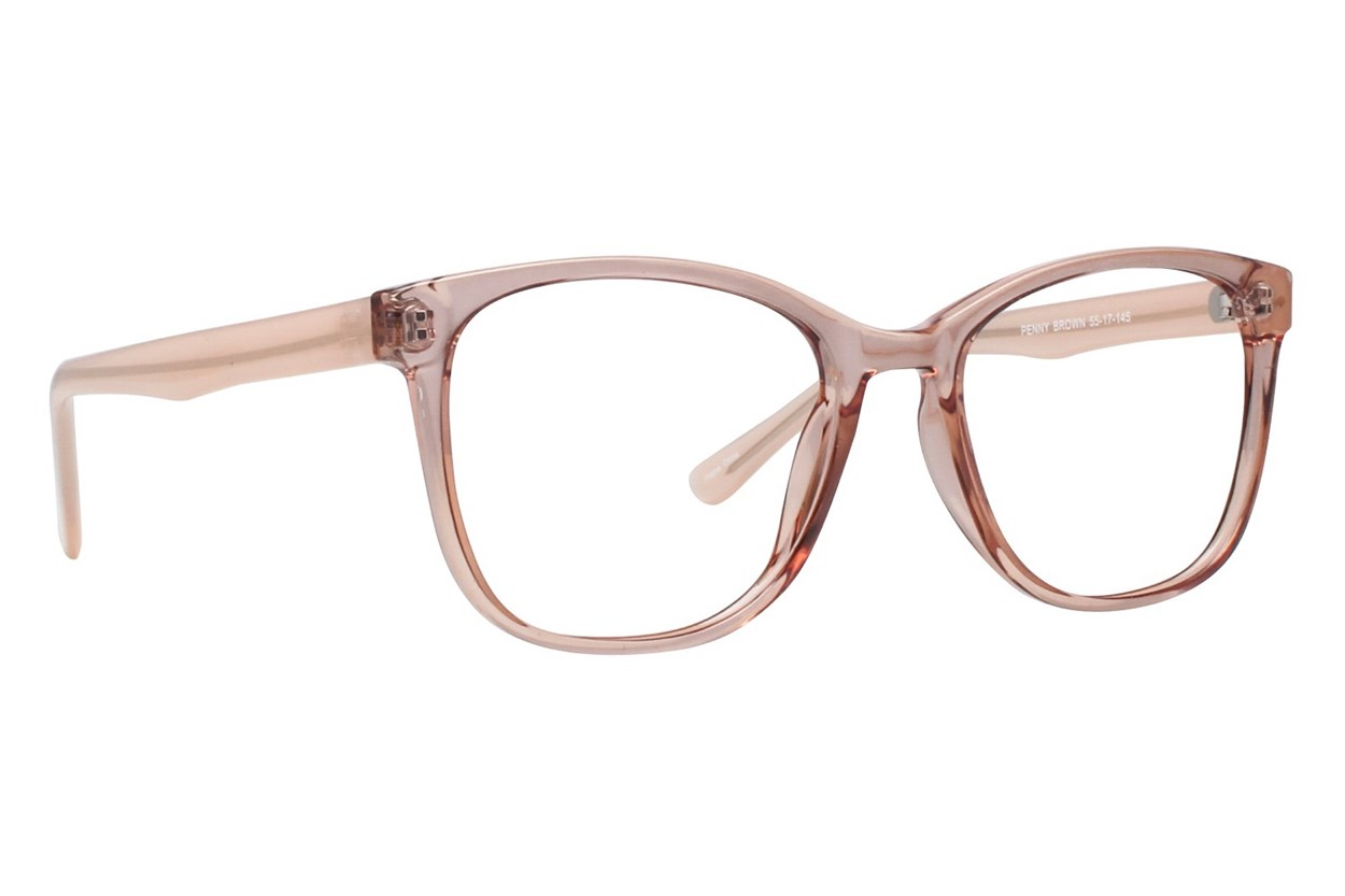 Affordable Designs Penny Brown Glasses