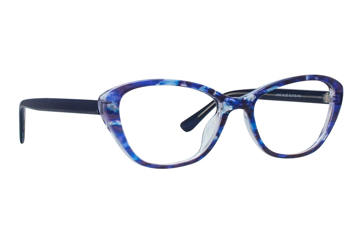 Affordable Designs Jane Blue Glasses
