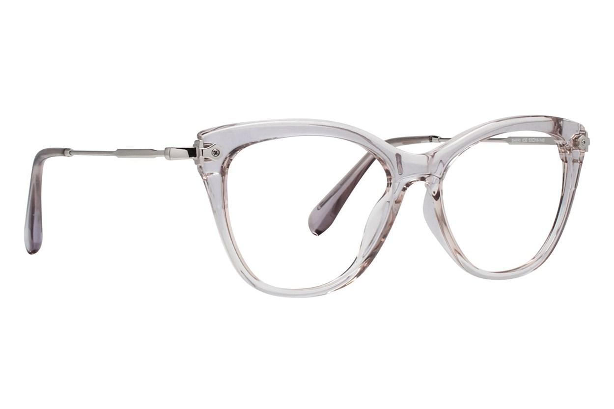 Serafina Sheri White Glasses