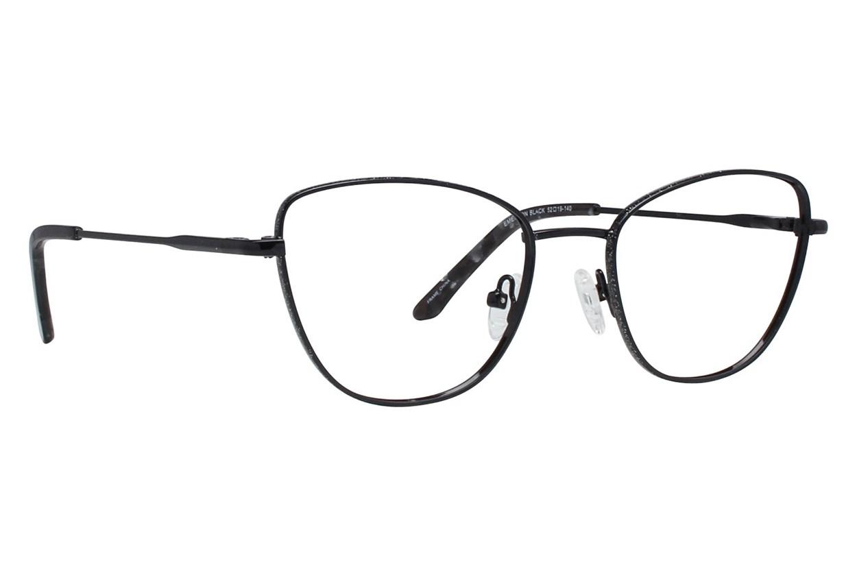Serafina Emerson Black Glasses