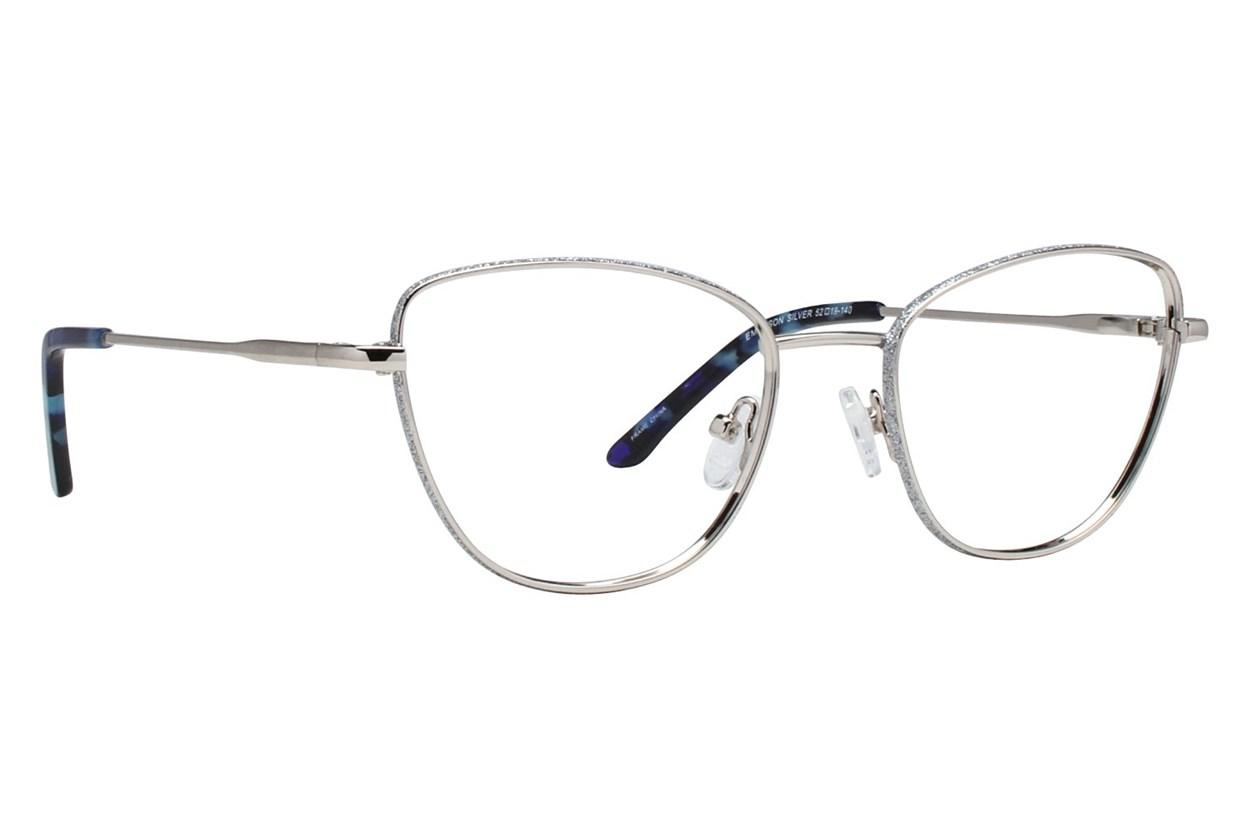 Serafina Emerson Silver Glasses