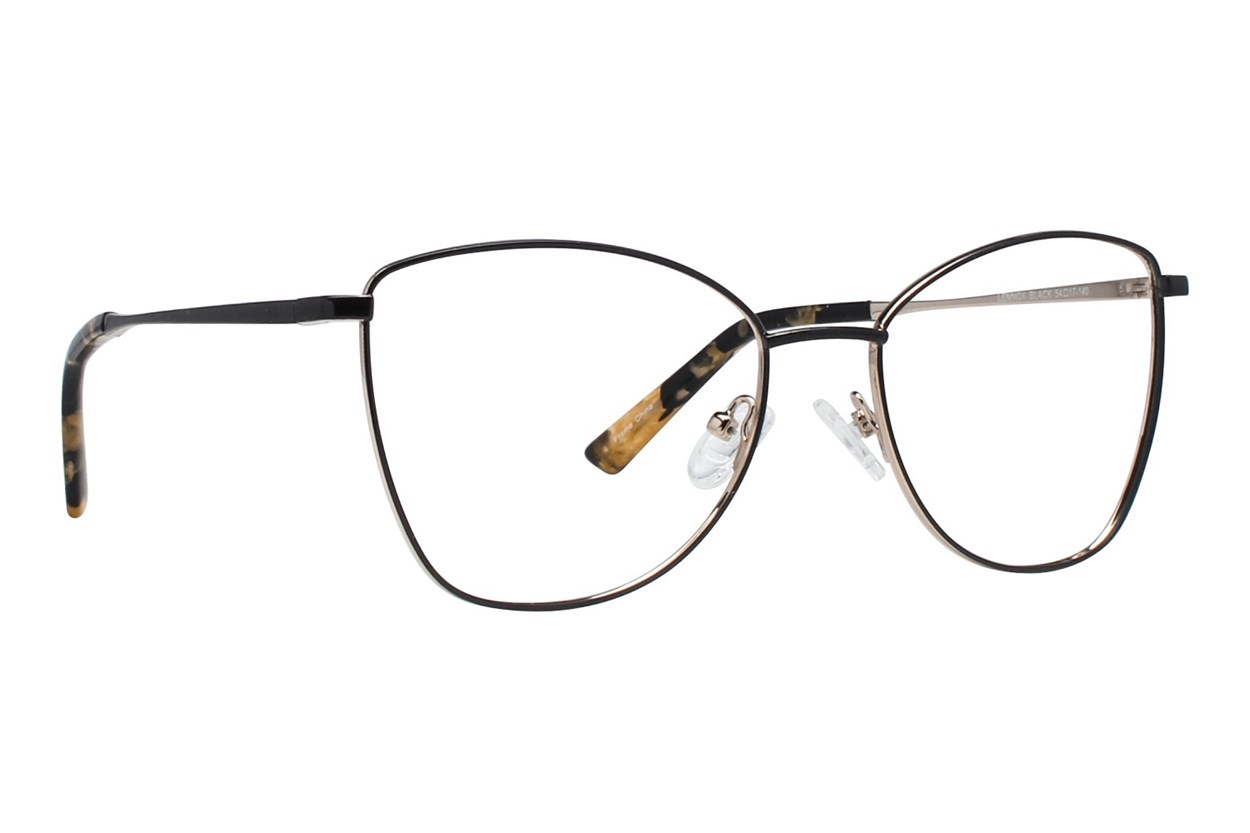 Serafina Lennox Black Glasses