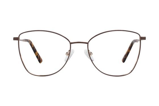 Serafina Lennox Brown Glasses