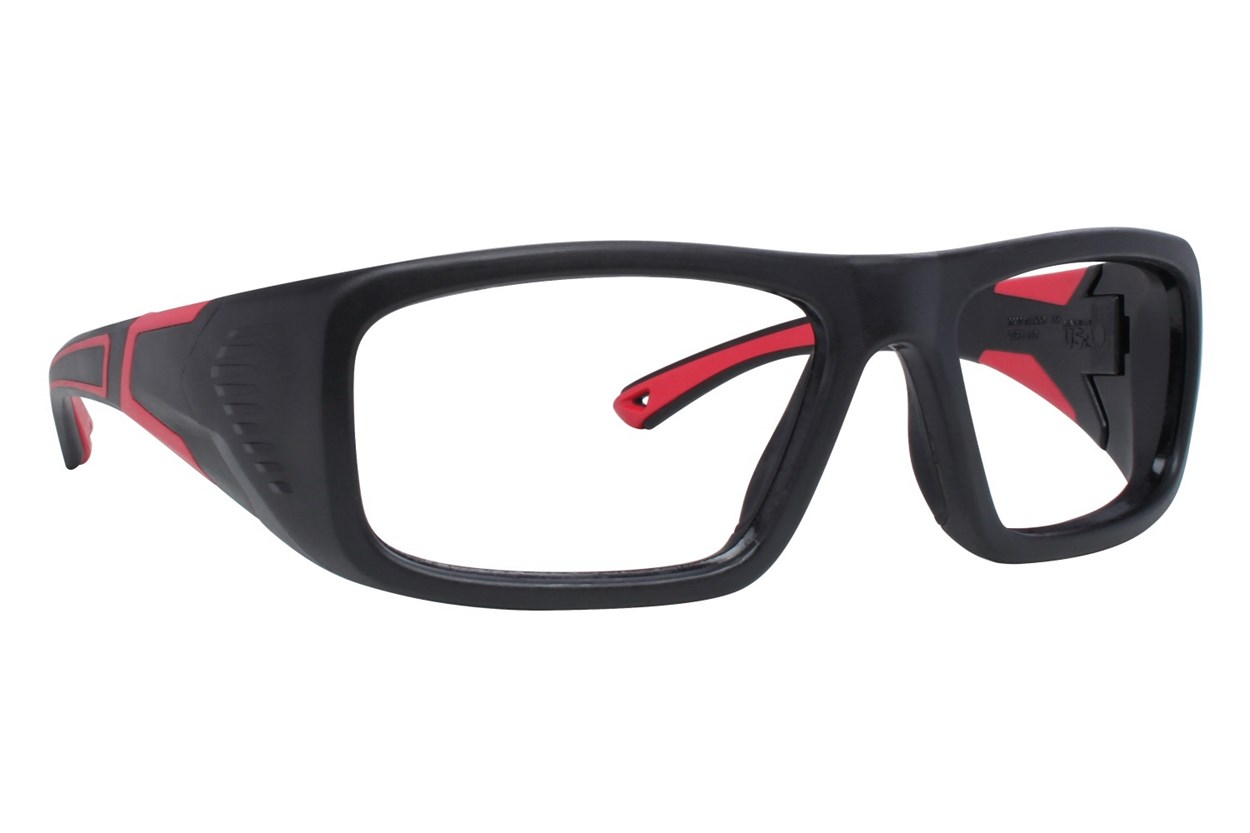 OnGuard US 110FS Safety Glasses Black Glasses