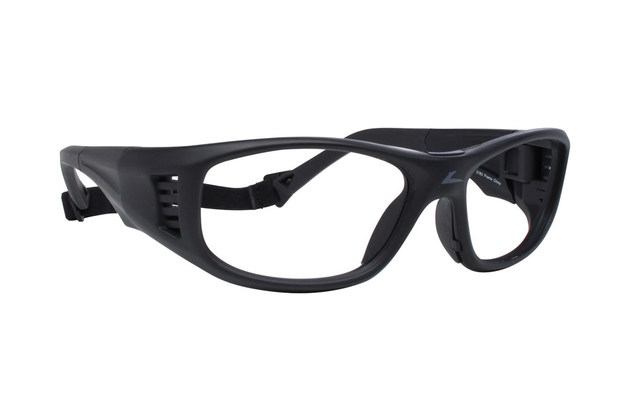 OnGuard OG 240S Safety Glasses Black Glasses
