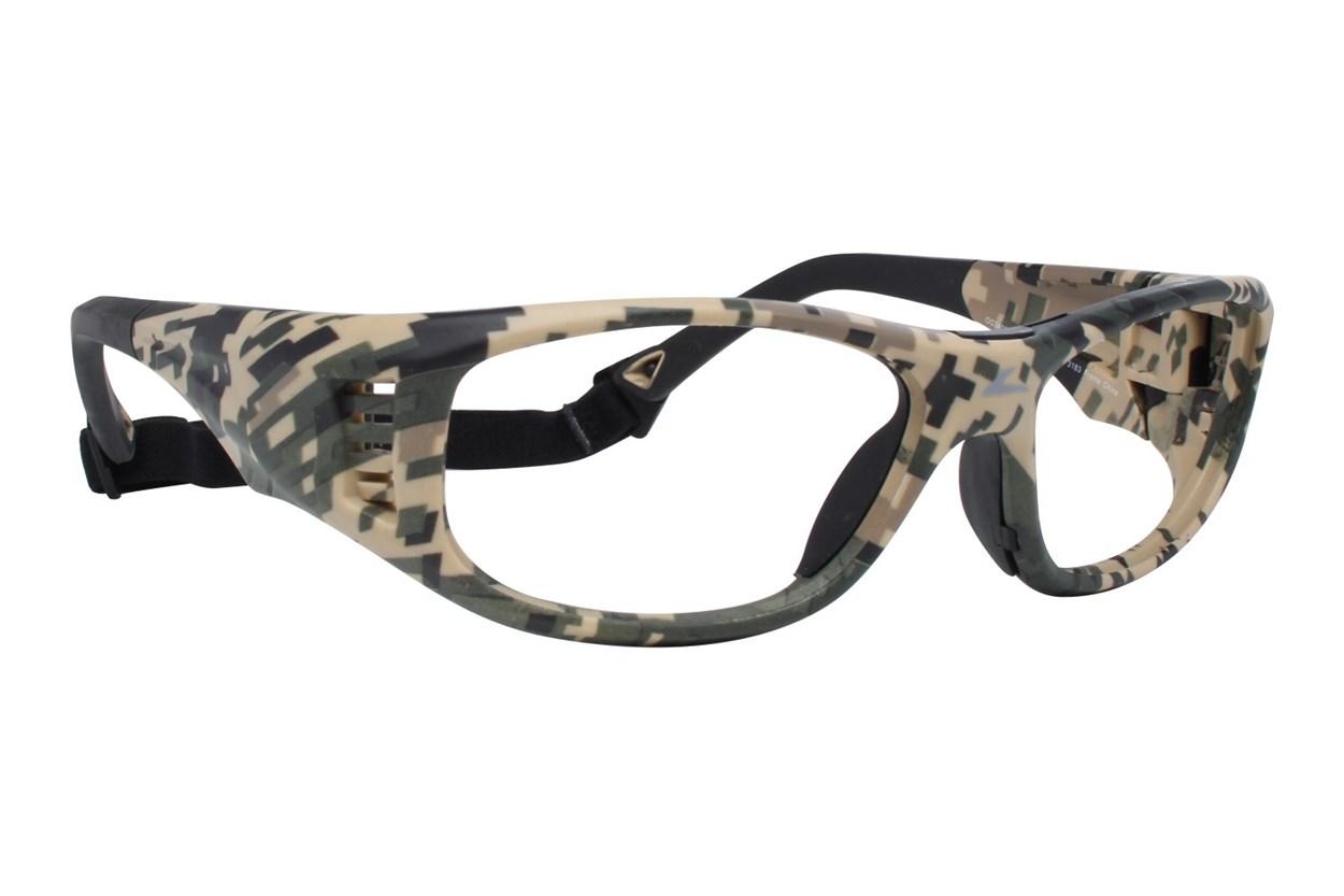 OnGuard OG 240S Safety Glasses Green Glasses