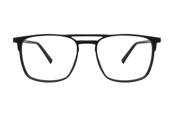 Lunettos Jason Black Glasses