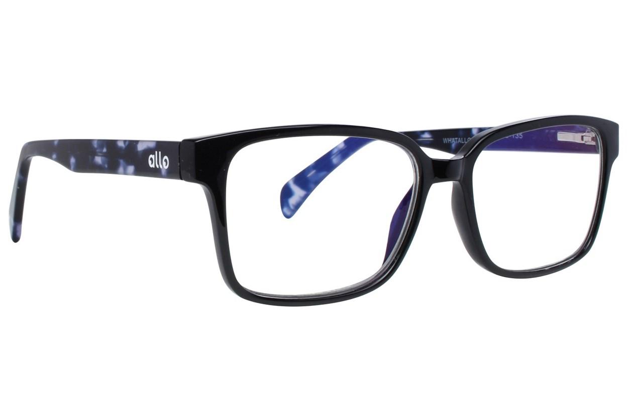 allo What Reading Glasses Black