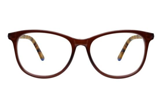 allo Qepsa Reading Glasses Brown