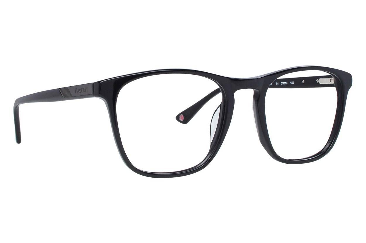 Hackett London Large Fit HEK1215 Black Glasses