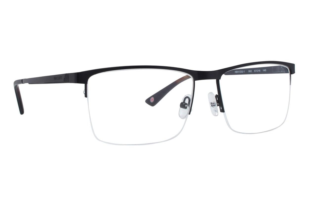 Hackett London Large Fit HEK1232 Black Glasses