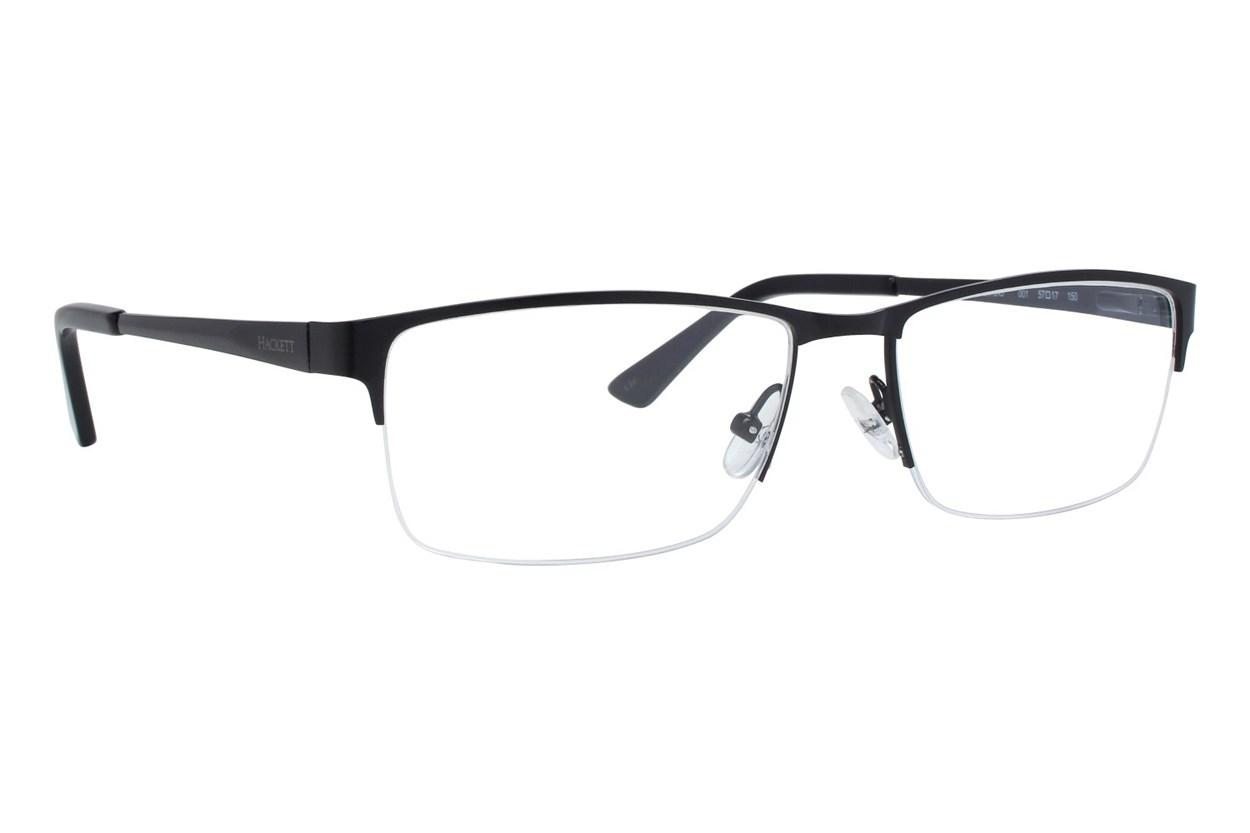 Hackett London Large Fit HEK1243 Black Glasses