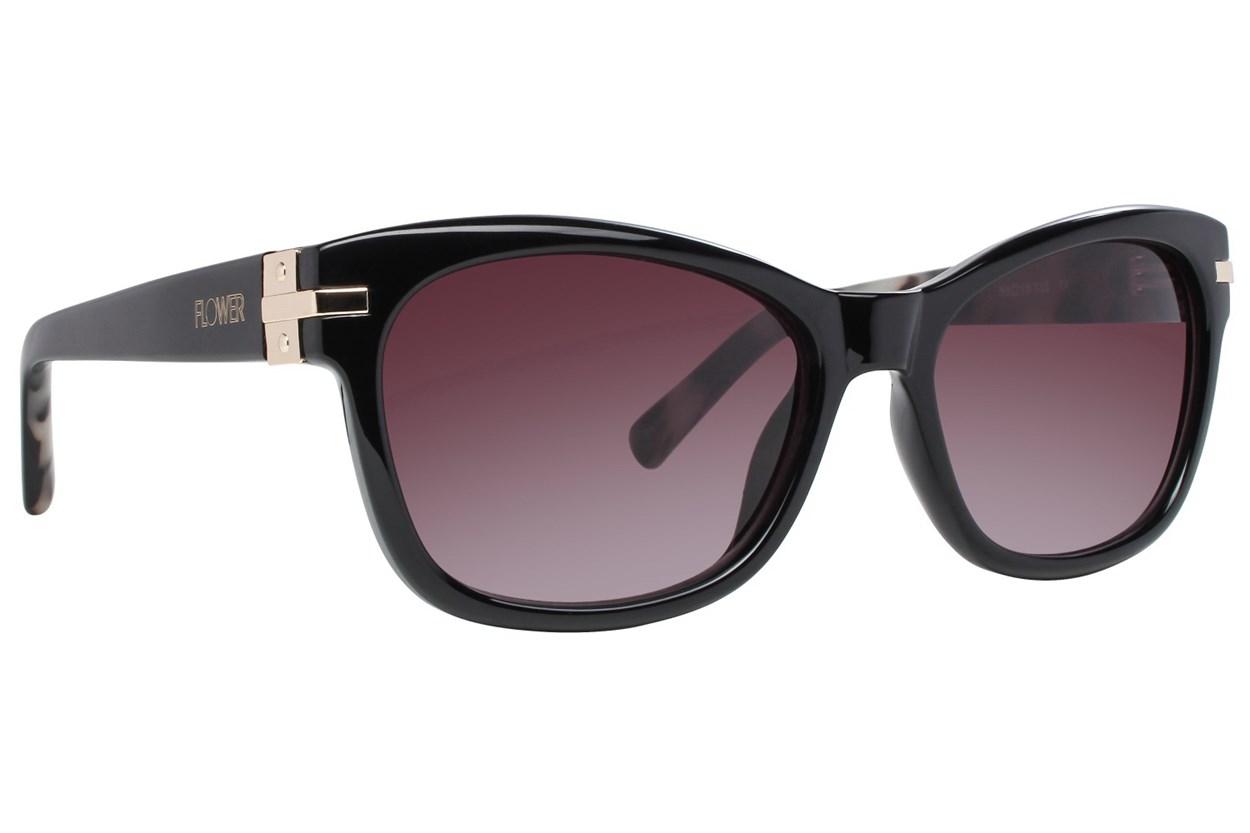 Flower Eyewear Holly Black Sunglasses