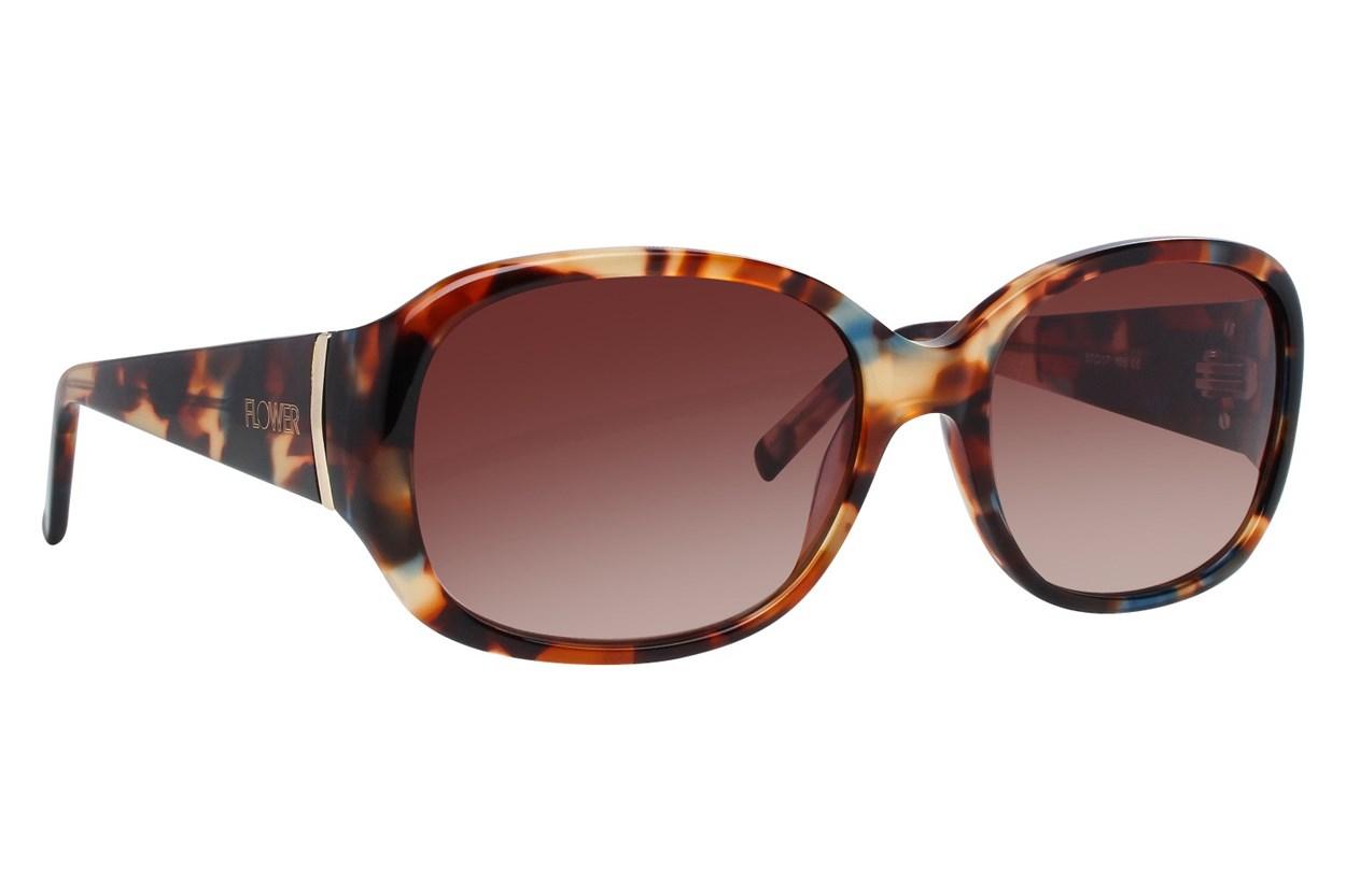 Flower Eyewear Edie Blue Sunglasses
