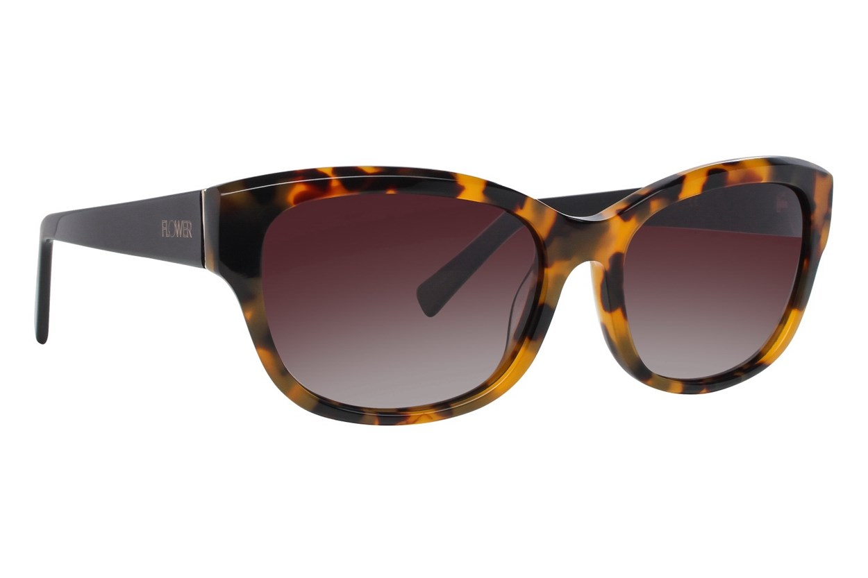 Flower Eyewear Chloe Tortoise Sunglasses
