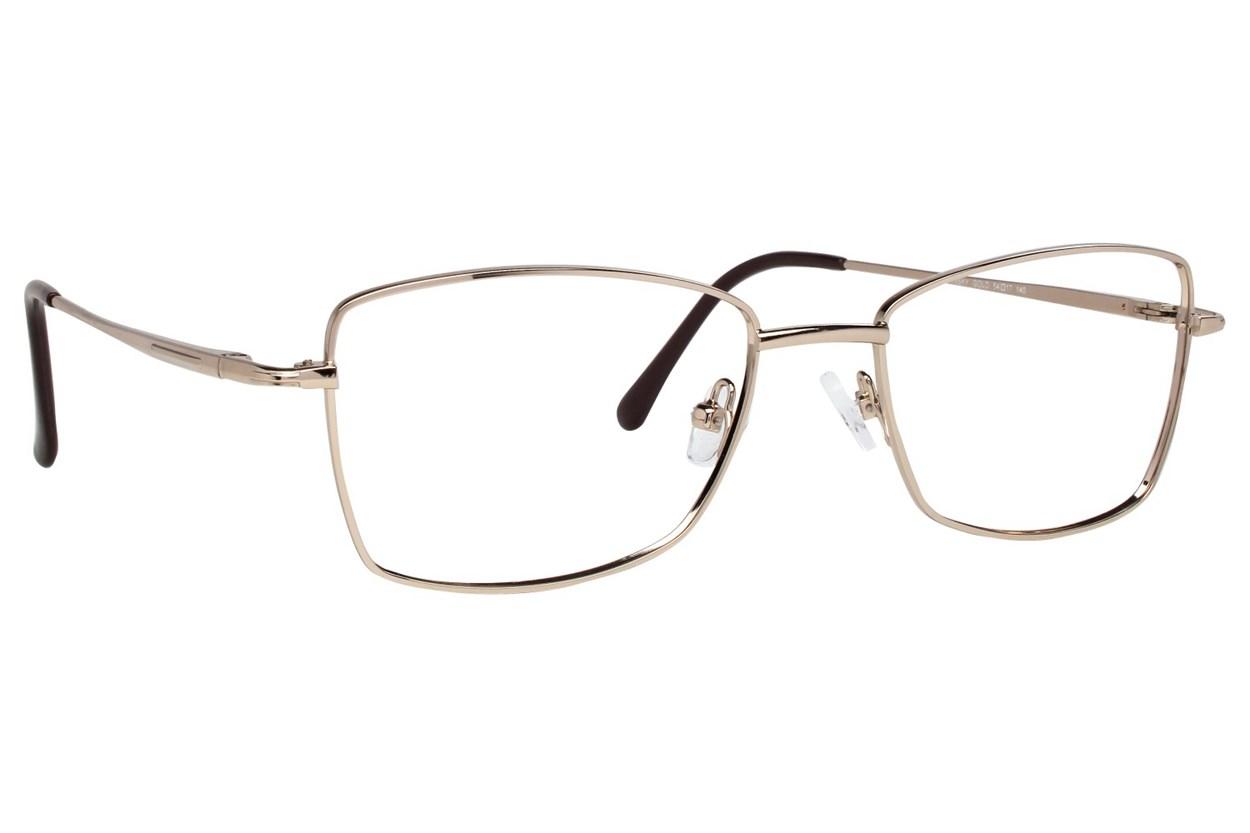 Eight To Eighty Eyewear Joansky Gold Glasses