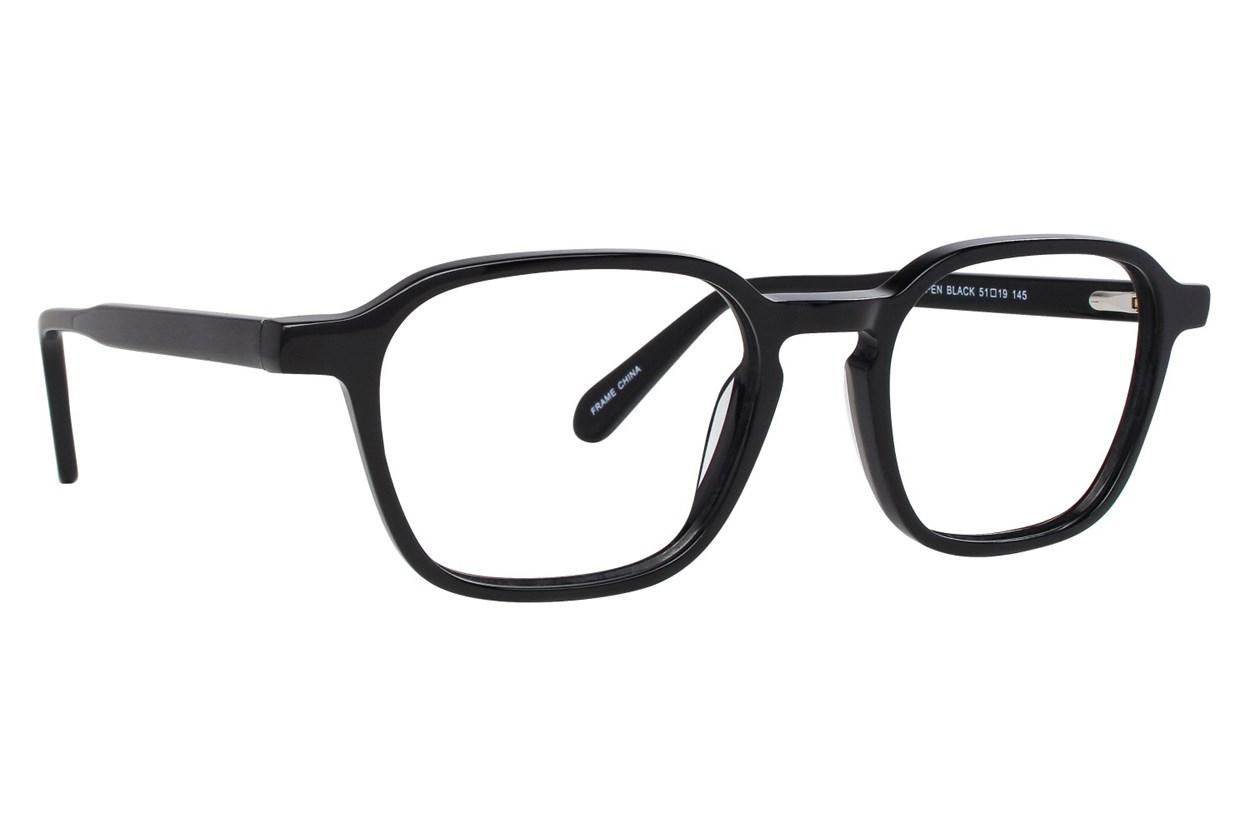 Eight To Eighty Eyewear Aspen Black Glasses