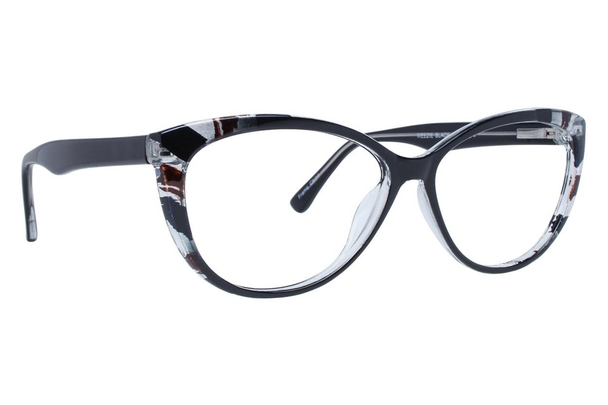 Affordable Designs Weezie Black Glasses