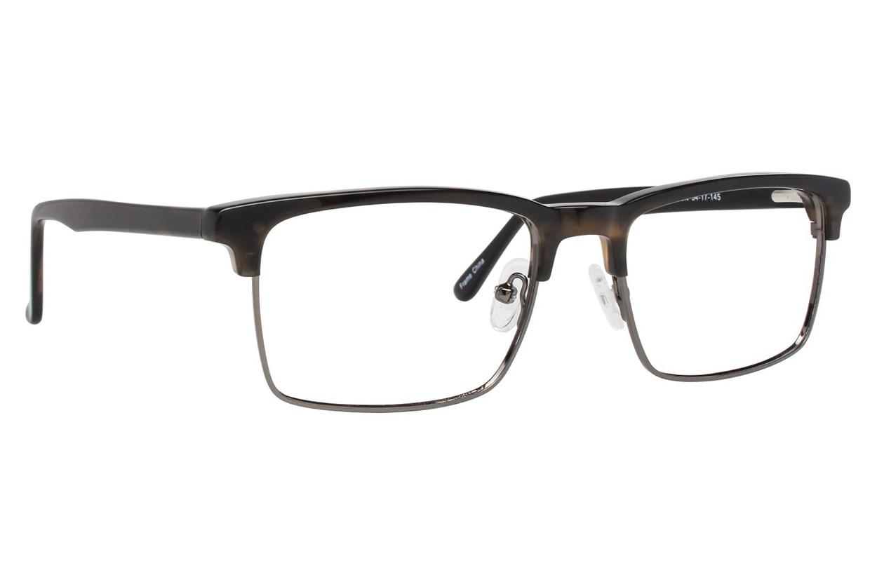 Brooklyn Heights Ebbets Gray Glasses