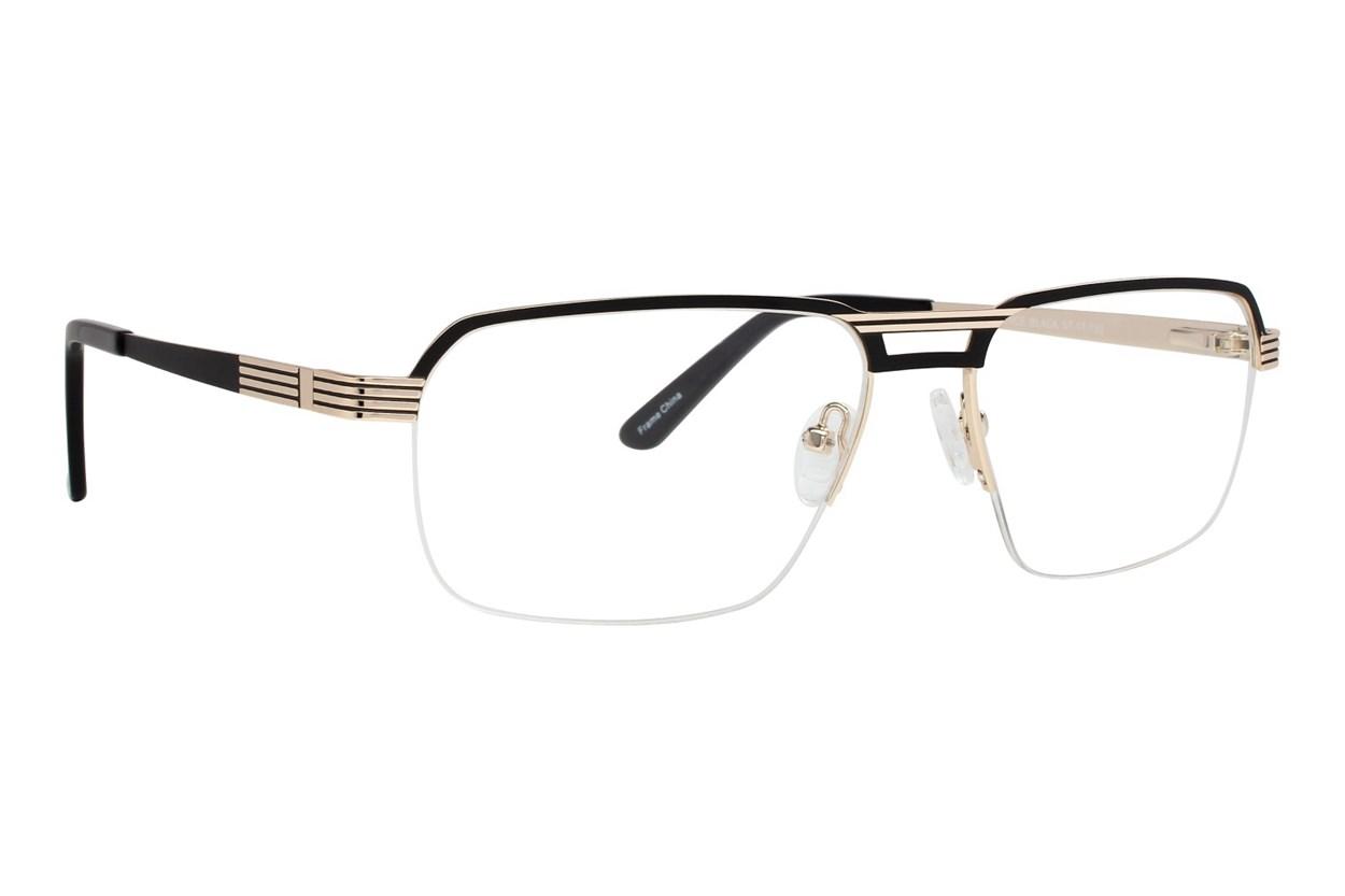 Maxx Eyewear Terence Black Glasses