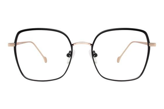 Serafina Fiona Black Glasses