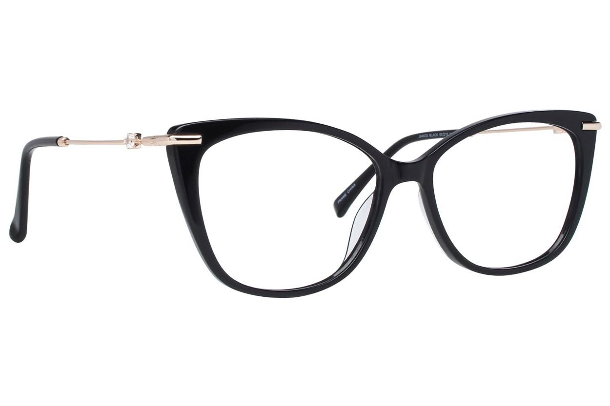 Serafina Janice Black Glasses