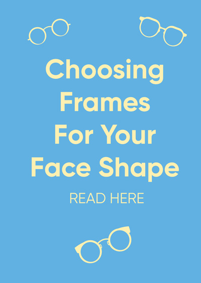 How to find the perfect frames for your face shape
