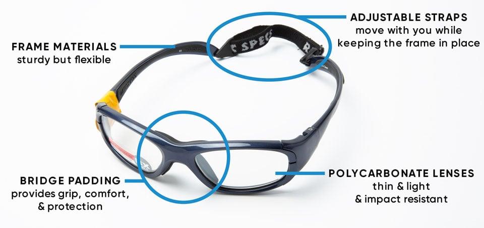 Kids Sports Goggles