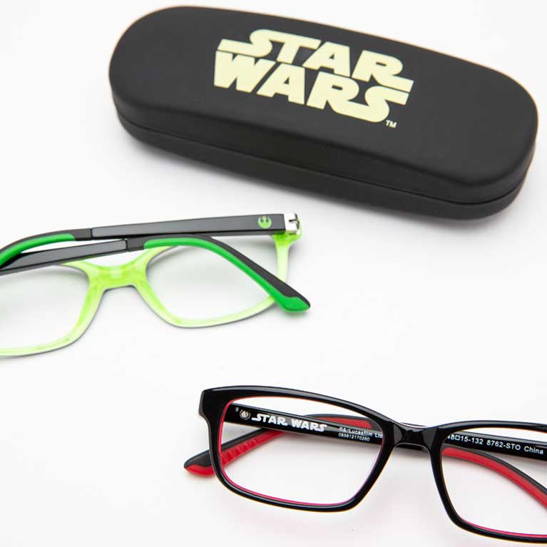 Star Wars eyeglasses for kids