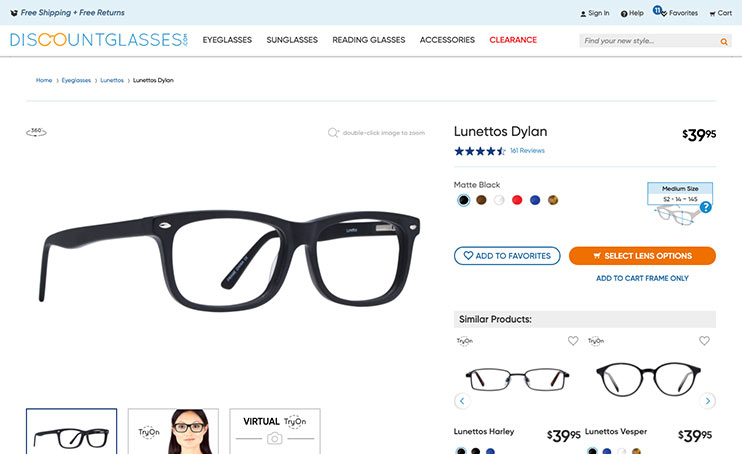 Pick your frames